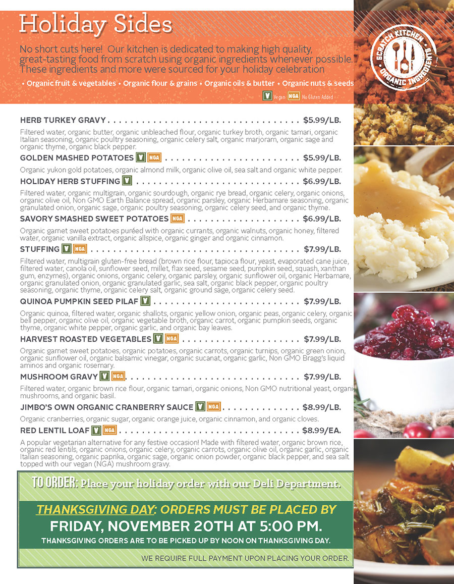 HOLIDAY MEALS AND MORE - Page 3